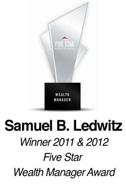 Wealth Manager award graphic