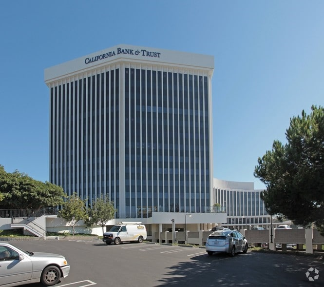 Photo of office building with California Bank of Trust written on it